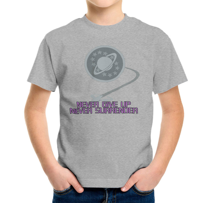 Galaxy Quest Never Give Up Never Surrender Kid's T-Shirt Kid's Boy's T-Shirt Cloud City 7 - 5