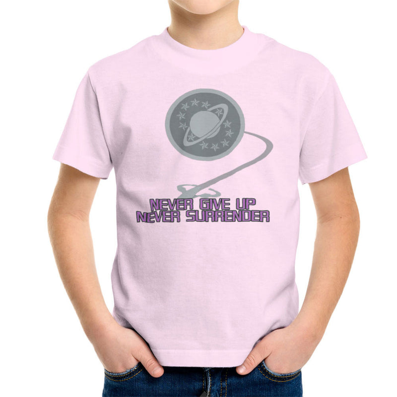 Galaxy Quest Never Give Up Never Surrender Kid's T-Shirt Kid's Boy's T-Shirt Cloud City 7 - 20