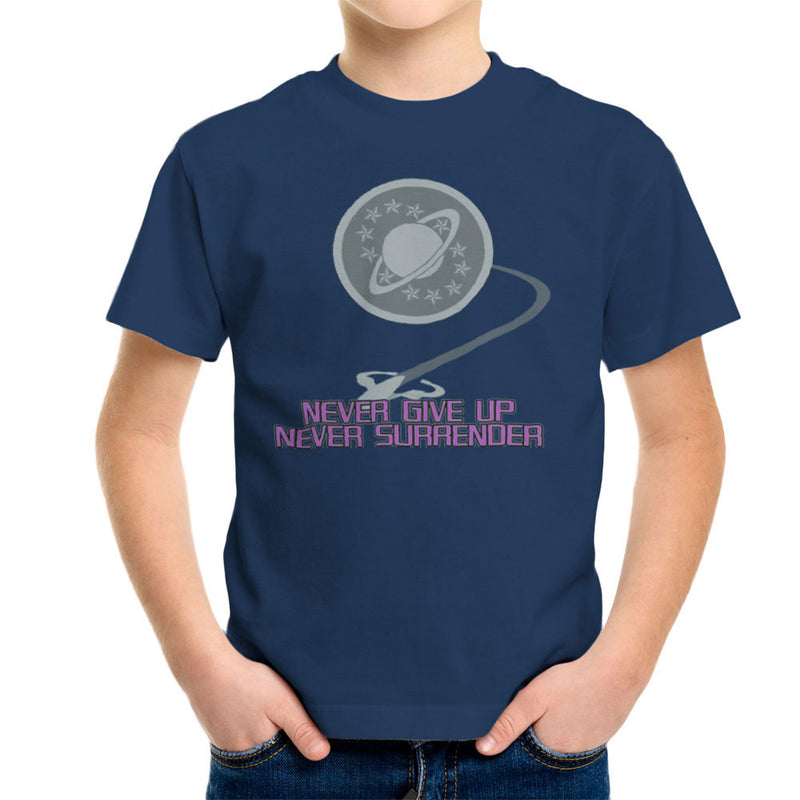 Galaxy Quest Never Give Up Never Surrender Kid's T-Shirt Kid's Boy's T-Shirt Cloud City 7 - 7