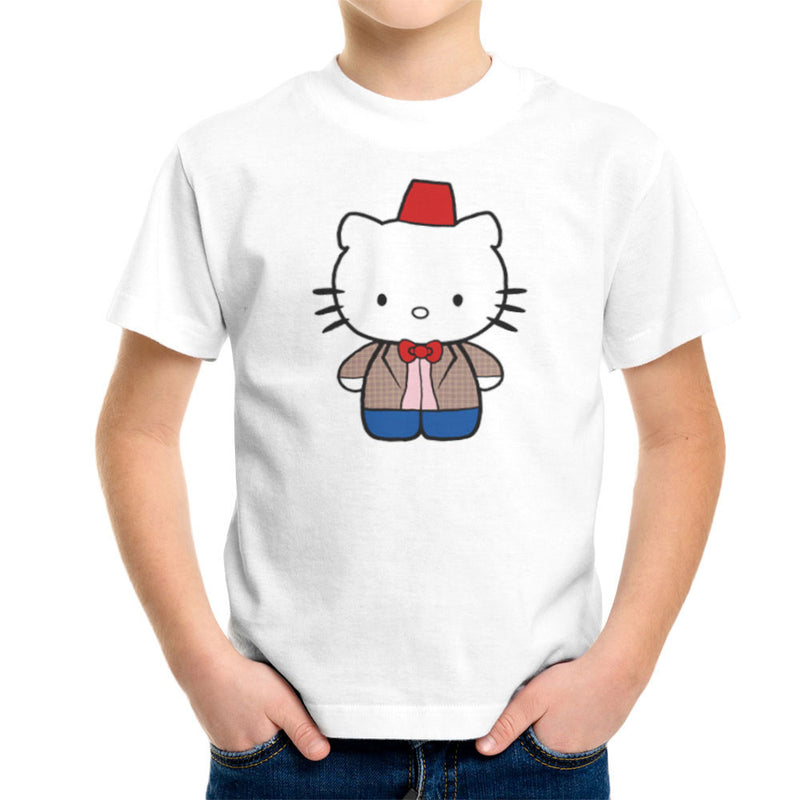 Hello Kitty Doctor Who Kid's T-Shirt by Sillicus - Cloud City 7