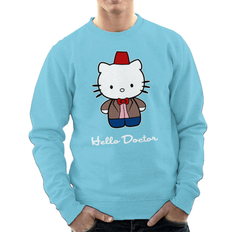 Hello Kitty Doctor Who Men's Sweatshirt by Sillicus - Cloud City 7