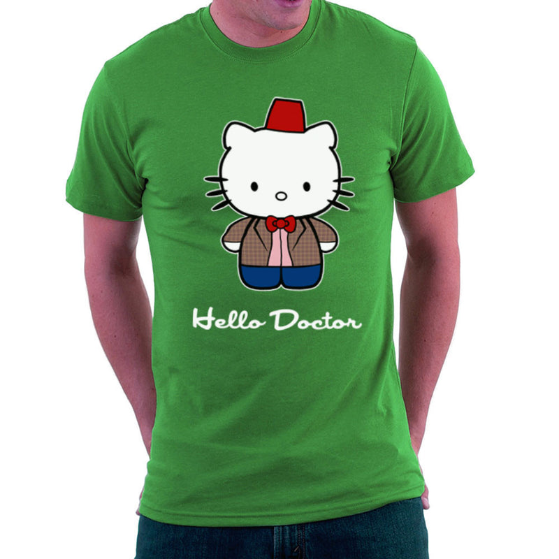Hello Kitty Doctor Who Men's T-Shirt by Sillicus - Cloud City 7