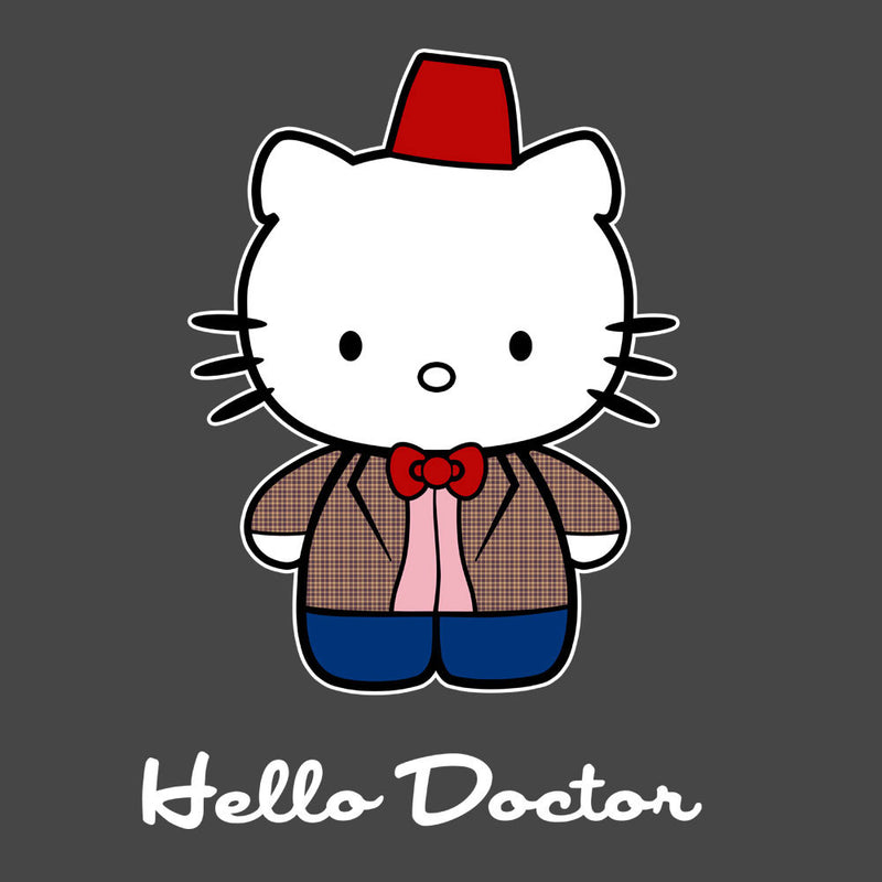 Hello Kitty Doctor Who Men's Vest by Sillicus - Cloud City 7