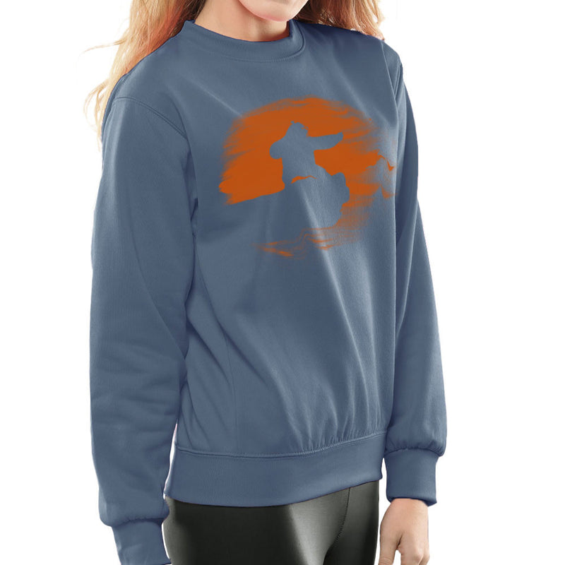 Kung Fu Panda Silhouette Sunset Women's Sweatshirt Women's Sweatshirt Cloud City 7 - 9