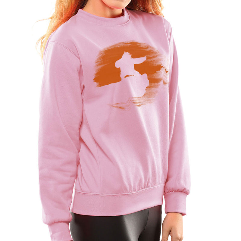Kung Fu Panda Silhouette Sunset Women's Sweatshirt Women's Sweatshirt Cloud City 7 - 21