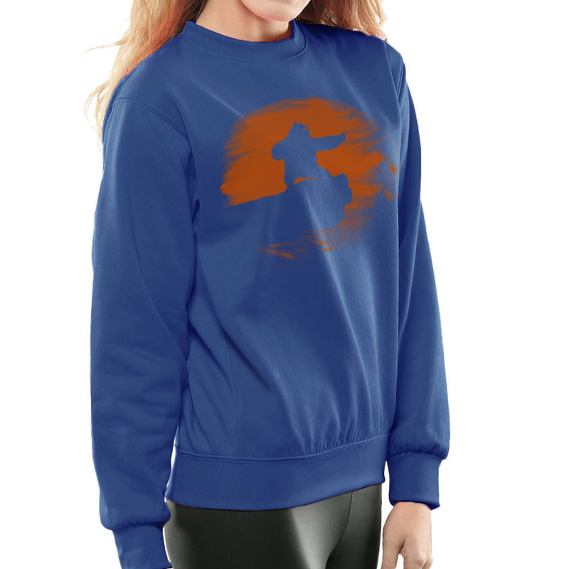 Kung Fu Panda Silhouette Sunset Women's Sweatshirt Women's Sweatshirt Cloud City 7 - 8