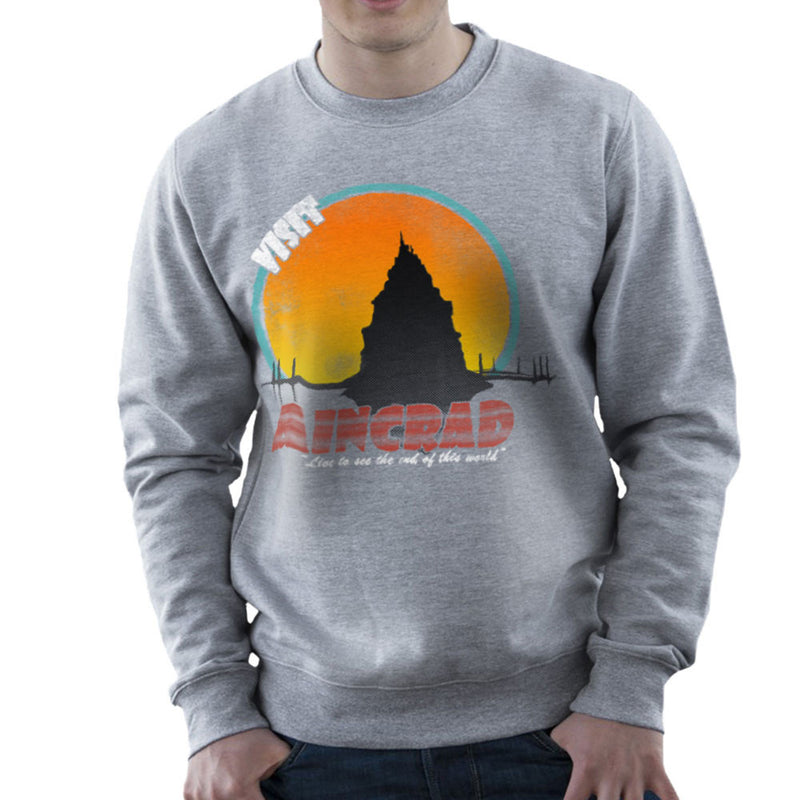 Minecraft Visit Aincrad Men's Sweatshirt Men's Sweatshirt Cloud City 7 - 5