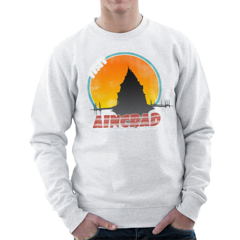 Minecraft Visit Aincrad Men's Sweatshirt Men's Sweatshirt Cloud City 7 - 6