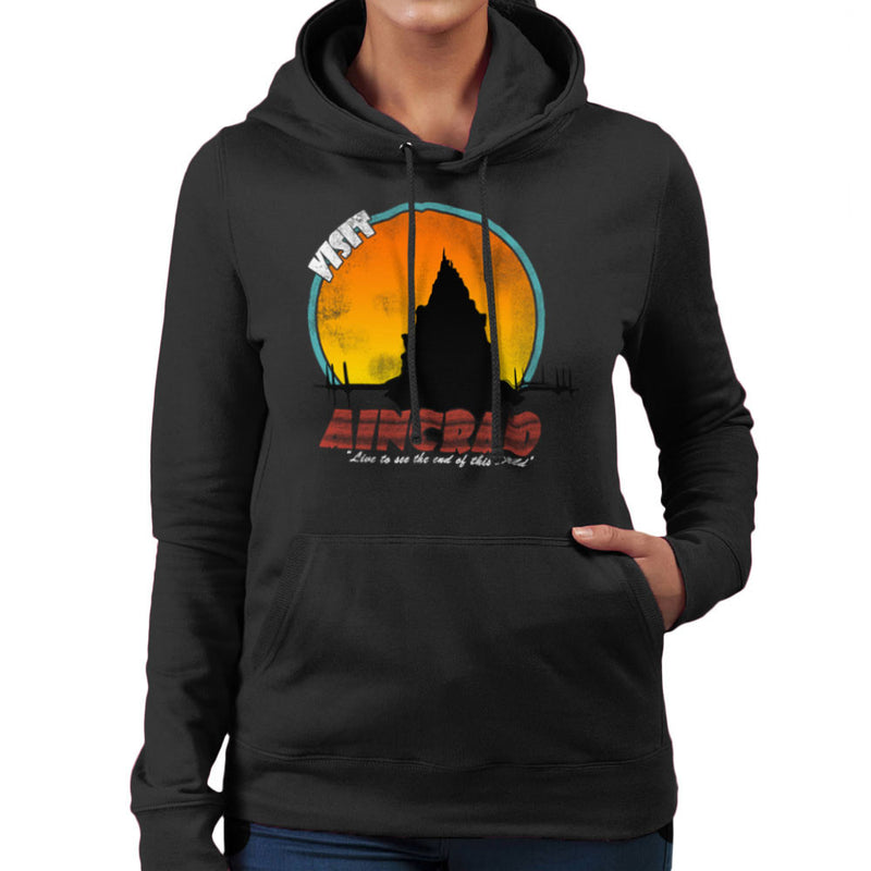 Minecraft Visit Aincrad Women's Hooded Sweatshirt by Sillicus - Cloud City 7