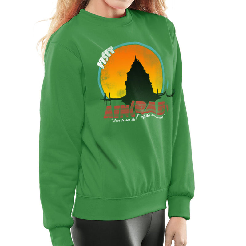 Minecraft Visit Aincrad Women's Sweatshirt by Sillicus - Cloud City 7