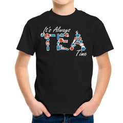It's Always Tea Time Kid's T-Shirt Kid's Boy's T-Shirt Cloud City 7 - 2