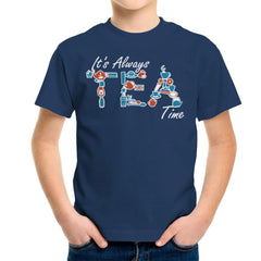 It's Always Tea Time Kid's T-Shirt Kid's Boy's T-Shirt Cloud City 7 - 7