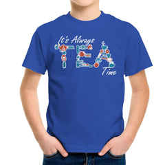 It's Always Tea Time Kid's T-Shirt Kid's Boy's T-Shirt Cloud City 7 - 1