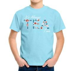 It's Always Tea Time Kid's T-Shirt Kid's Boy's T-Shirt Cloud City 7 - 11