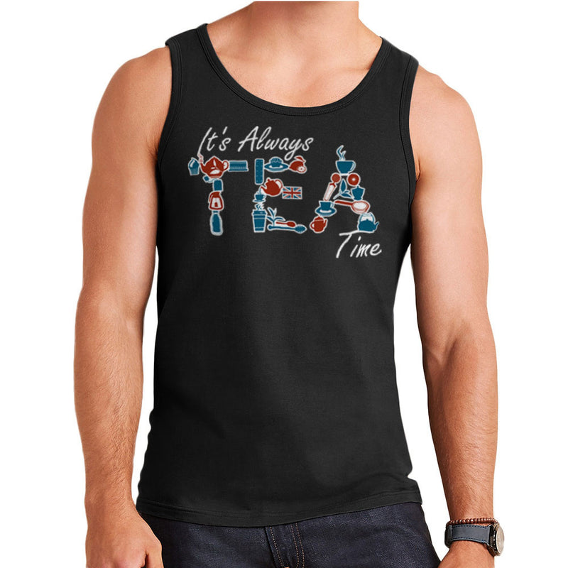 It's Always Tea Time Men's Vest by Kempo24 - Cloud City 7