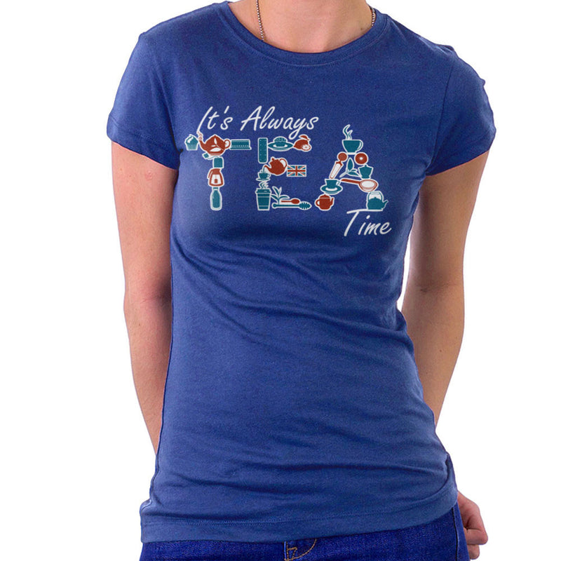 It's Always Tea Time Women's T-Shirt by Kempo24 - Cloud City 7
