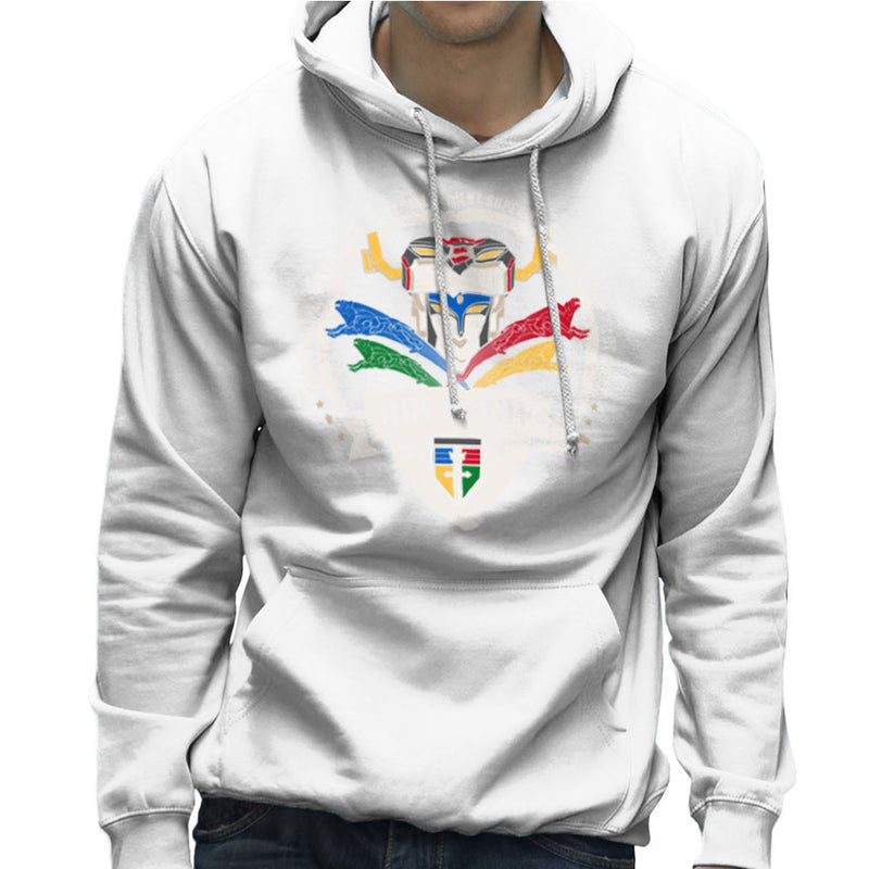 Voltron Force Arus Air Show Elite Lion Pilot Men's Hooded Sweatshirt Men's Hooded Sweatshirt Cloud City 7 - 6