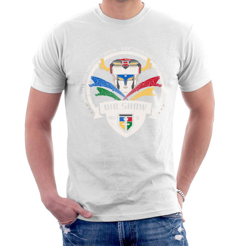 Voltron Force Arus Air Show Elite Lion Pilot Men's T-Shirt by Kempo24 - Cloud City 7