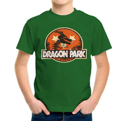 Dragon Ball Z Shenron Jurassic Park Kid's T-Shirt Kid's Boy's T-Shirt Cloud City 7 - 13
