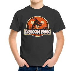 Dragon Ball Z Shenron Jurassic Park Kid's T-Shirt Kid's Boy's T-Shirt Cloud City 7 - 4