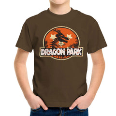 Dragon Ball Z Shenron Jurassic Park Kid's T-Shirt Kid's Boy's T-Shirt Cloud City 7 - 12