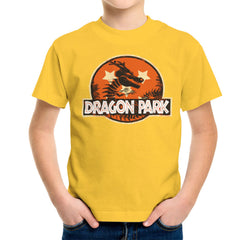 Dragon Ball Z Shenron Jurassic Park Kid's T-Shirt Kid's Boy's T-Shirt Cloud City 7 - 17