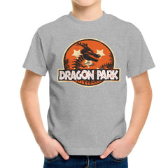 Dragon Ball Z Shenron Jurassic Park Kid's T-Shirt Kid's Boy's T-Shirt Cloud City 7 - 5