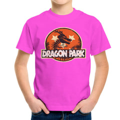 Dragon Ball Z Shenron Jurassic Park Kid's T-Shirt Kid's Boy's T-Shirt Cloud City 7 - 19