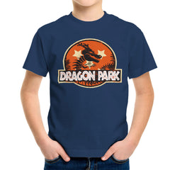 Dragon Ball Z Shenron Jurassic Park Kid's T-Shirt Kid's Boy's T-Shirt Cloud City 7 - 7
