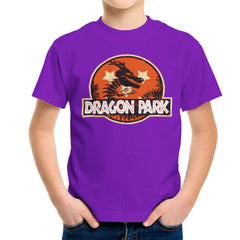 Dragon Ball Z Shenron Jurassic Park Kid's T-Shirt Kid's Boy's T-Shirt Cloud City 7 - 18
