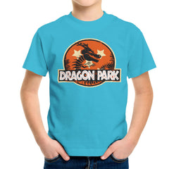 Dragon Ball Z Shenron Jurassic Park Kid's T-Shirt Kid's Boy's T-Shirt Cloud City 7 - 10