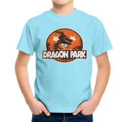 Dragon Ball Z Shenron Jurassic Park Kid's T-Shirt Kid's Boy's T-Shirt Cloud City 7 - 11