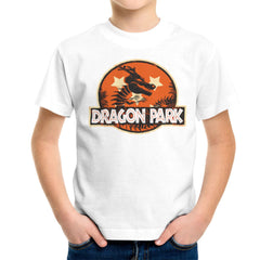 Dragon Ball Z Shenron Jurassic Park Kid's T-Shirt Kid's Boy's T-Shirt Cloud City 7 - 6