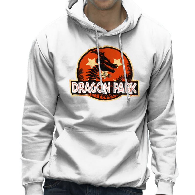 Dragon Ball Z Shenron Jurassic Park Men's Hooded Sweatshirt by Kempo24 - Cloud City 7