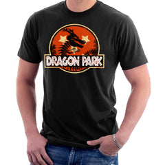 Dragon Ball Z Shenron Jurassic Park Men's T-Shirt Men's T-Shirt Cloud City 7 - 2