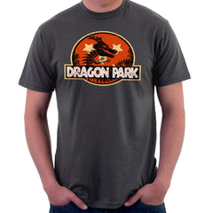 Dragon Ball Z Shenron Jurassic Park Men's T-Shirt Men's T-Shirt Cloud City 7 - 4