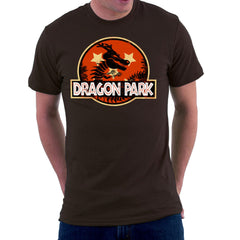 Dragon Ball Z Shenron Jurassic Park Men's T-Shirt Men's T-Shirt Cloud City 7 - 12