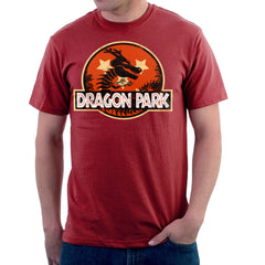 Dragon Ball Z Shenron Jurassic Park Men's T-Shirt Men's T-Shirt Cloud City 7 - 15