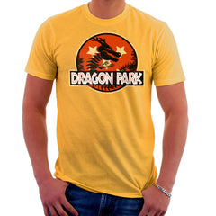 Dragon Ball Z Shenron Jurassic Park Men's T-Shirt Men's T-Shirt Cloud City 7 - 18