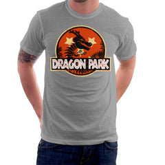 Dragon Ball Z Shenron Jurassic Park Men's T-Shirt Men's T-Shirt Cloud City 7 - 5