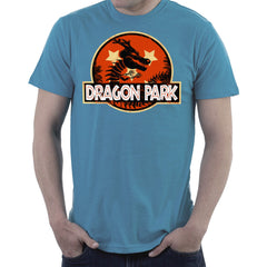 Dragon Ball Z Shenron Jurassic Park Men's T-Shirt Men's T-Shirt Cloud City 7 - 9