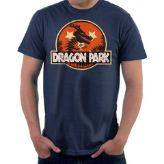 Dragon Ball Z Shenron Jurassic Park Men's T-Shirt Men's T-Shirt Cloud City 7 - 7
