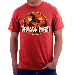 Dragon Ball Z Shenron Jurassic Park Men's T-Shirt Men's T-Shirt Cloud City 7 - 16