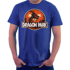 Dragon Ball Z Shenron Jurassic Park Men's T-Shirt Men's T-Shirt Cloud City 7 - 8