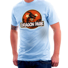 Dragon Ball Z Shenron Jurassic Park Men's T-Shirt Men's T-Shirt Cloud City 7 - 11