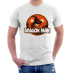 Dragon Ball Z Shenron Jurassic Park Men's T-Shirt Men's T-Shirt Cloud City 7 - 6