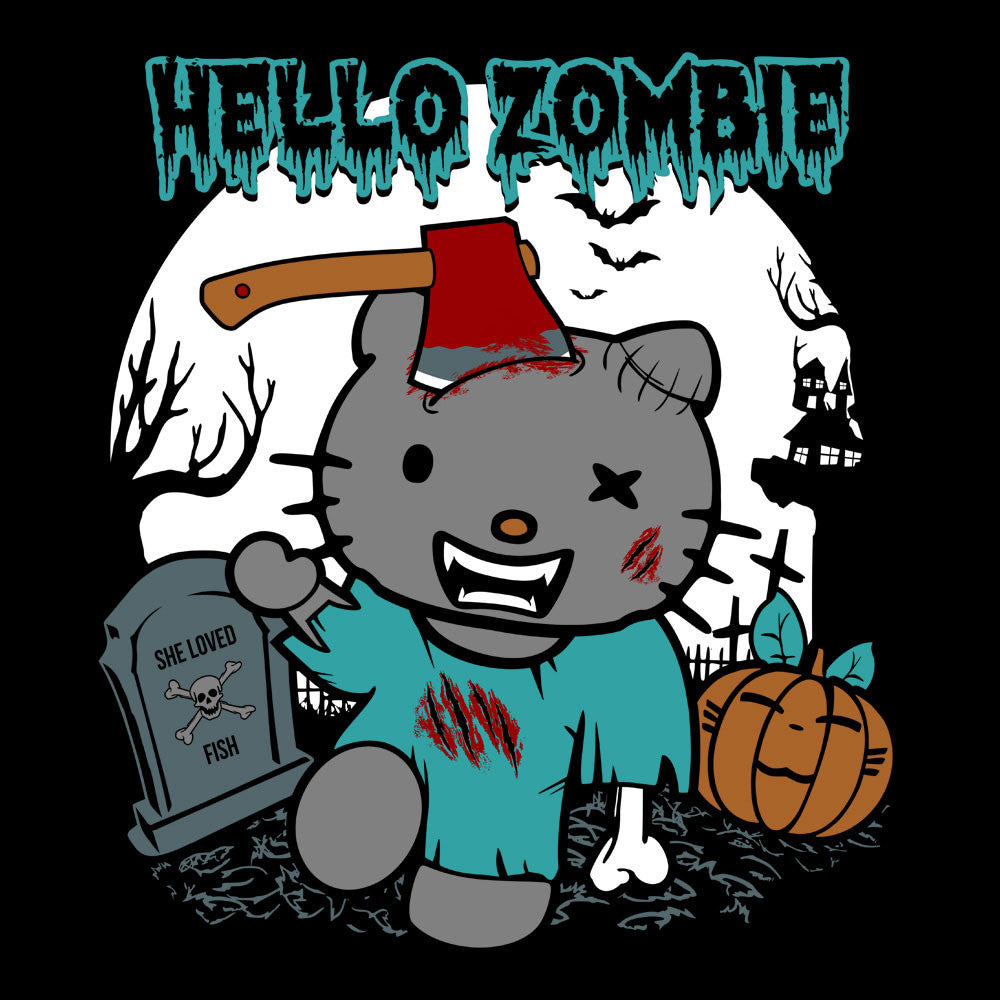 Hello Zombie Kitty Women
