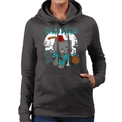 Hello Zombie Kitty Women's Hooded Sweatshirt Women's Hooded Sweatshirt Cloud City 7 - 4