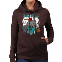Hello Zombie Kitty Women's Hooded Sweatshirt Women's Hooded Sweatshirt Cloud City 7 - 12