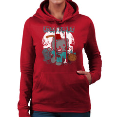 Hello Zombie Kitty Women's Hooded Sweatshirt Women's Hooded Sweatshirt Cloud City 7 - 15